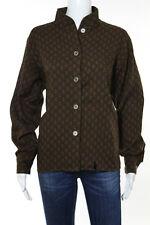 Yves Saint Laurent Brown Vintage Long Sleeve Button Down Top Size 38 6