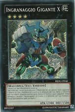Yu Gi Oh! Ingranaggio Giagante X - Gear Gigant X Unlimited - Segreta REDU-IT046