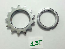 "13T COG FOR TRACK FIXED GEAR BICYCLES 1/8"" SINGLE SPEED 13 TOOTH COG *CHROME"
