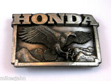 HONDA Motor Company Logo Eagle 1987 Licensed Brookfield Vintage Belt Buckle hh29