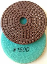"4"" inch Diamond Polishing Pad WET 1500 GRIT GA DPP6"