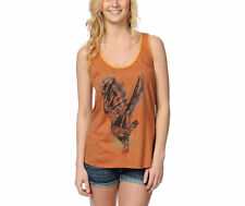 NWT Obey Juniors Womens Taking Flight Hawk Rookie Shirt Tee Tank Top Medium New