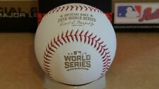 2016 Rawlings Official WORLD SERIES Game Baseball CUBS vs INDIANS