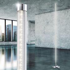 LED standing Light modern Lamp 18 Watt light Living Room Light Floor lamp Chrome