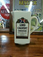 "Vintage ""LORD CALVERT CANADIAN CERAMIC PITCHER"""