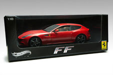 HOTHWEELS ELITE FERRARI FF RED W1105   1:18