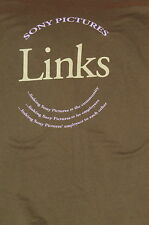 """Sony Pictures LINKS Volunteer"" T-Shirt –Movie Film Staff Item Rare (M)"