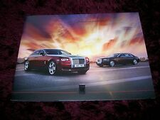 Rolls-Royce Ghost Brochure 2014