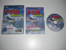 P-51D MUSTANG Pc Cd Rom Add-On Expansion Microsoft Flight Simulator X FS FSX