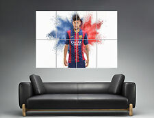 Super Neymar Junior FC Barcelona Wall Art Poster Grand format A0 Large Print