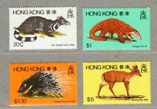 Hong Kong 1982 Hong Kong Fauna Animals Stamps