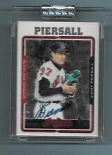 2005 Topps Retired Signature Jimmy Piersall Autograph Indians