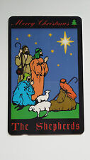 SINGAPORE PHONE CARD MERRY CHRISTMAS ART THE SHEPHERDS SINGAPORE TELECOM
