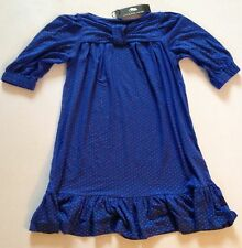 MARC JACOBS JERSEY GIRLS DRESS 10 YRS BLACK 10,12 YRS ROYAL RRP £109 £30.50 EACH