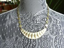Lucky Brand GoldTone Enamel Collar Necklace MSRP $59