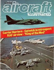 Aircraft Illustrated 1977 July Gatwick,AV-8B