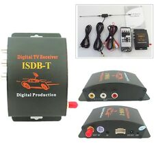 Mobile Car ISDB-T Tuner Receiver Set Top Box for Brazil Auto Freeview Digital TV
