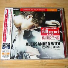 Aleksander With - Coming Home JAPAN CD+2Bonus Sealed NEW #05-2