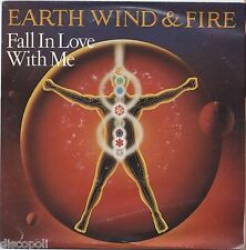 """EARTH WIND & FIRE - Fall in love with me VINYL 7"""" 45 ITALY 1982 NEAR MINT / VG+"""