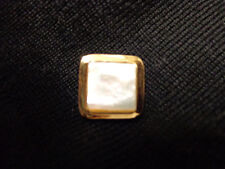 ST JOHN Marie Gray Gold MOTHER OF PEARL HARD TO FIND (1)  button Just Gorgeous