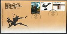 MALAYSIA 2011 Treasures of the Nation's Visual Arts Series II FDC