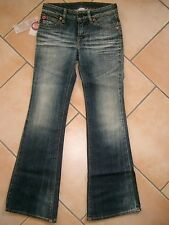 (842) Coole Nolita Pocket Girls used look Jeans 5 Pocket Hose Schlaghose gr.104