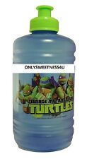 TMNT TEENAGE MUTANT NINJA TURTLES Water Jug Water Bottle With Handle 16 oz