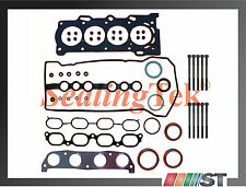 2000-08 Toyota 1.8 1ZZFE VVT-i Head Gasket Set w/ Bolts 1ZZ-FE engine cylinder