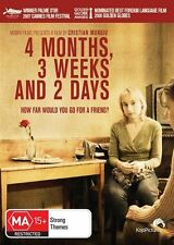 4 Months, 3 Weeks And 2 Days *Romanian with English Subtitles * (DVD, 2009) NEW!