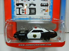 Johnny Lightning *LIGHTNING PATROL* 1970 Plymouth CUDA Police Car NIP!