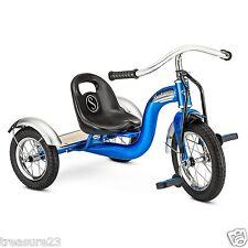 """New 12"""" BLUE Retro Tricycle Schwinn Roadster Kids Trike"""