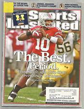 2006 Michigan football Sports Illustrated Bo Schembechler tribute