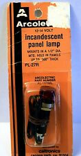 "Arcolectric PL-27R INCANDESCENT PANEL LAMP; .1/2"" DIA   12-14 V"