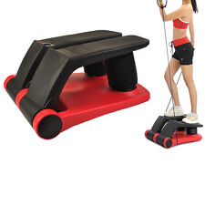 New Air Stepper Climber Exercise Fitness Thigh Machine W/DVD Resistant Cord