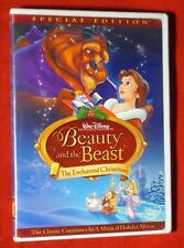 Genuine Disney Beauty and the Beast Enchanted Christmas FF DVD Special Edition