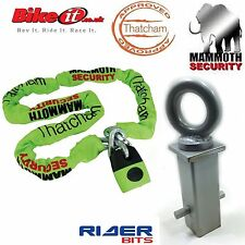 CONCRETE IN ANCHOR MAMMOTH& THATCHAM MOTORBIKE GOLD CAT3 APPROVED 1.8M CHAINLOCK