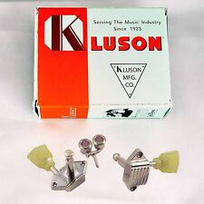 MECANIQUES VINTAGE KLUSON WAFFLEBACK NICKEL TUNER 15:1 GIBSON LP SG 3x3 PEARLOID