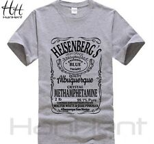M311 Free Shipping Breaking Bad T Shirt Men T-Shirt Walter White Top Heisenberg