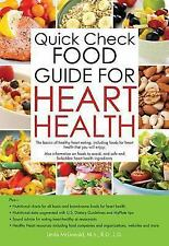 Quick Check Food Guide for Heart Health by Linda McDonald (2014, Paperback)