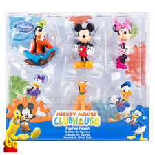 Disney Mickey Mouse Clubhouse 6-pc Figure Figurine Playset Toy Cake Topper NEW