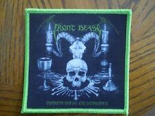 Front Beast - Demon Wing Of Sorcery Album Cover Patch BATHORY DERKETA IMPETIGO