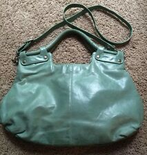 Womens Latico Large Turquoise Leather Shoulder Bag Purse BEAUTIFUL