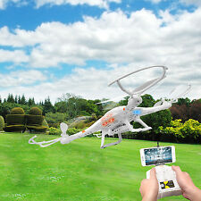 4.5 Ch 6 Axis Gyro 4 Motor 2.4Ghz RC WIFI FPV Quadcopter UFO w/ HD Camera Budles
