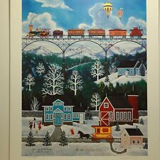 "Jane Wooster Scott ""Spanning Grand Gorge""  S/N Limited Edition Print"