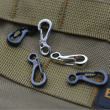 5X Spring SF Hooks Carabiner Key Chain Clip Hook Outdoor Buckle EDC Small Nice