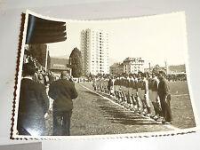 photo de l equipe de france de rugby annee 60 avant le match