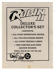 ROBIN II DELUXE COLLECTOR'S SET (1991)  ~ Limited Edition/Signed ~