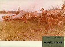 RUGGERO DEODATO CANNIBAL HOLOCAUST 1980 VINTAGE PHOTO ORIGINAL #10