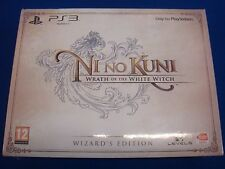 ps3 NI NO KUNI Wrath Of The White Witch Wizard's Edition NEW +SEALED Region Free