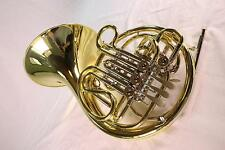 Holton Model H-378 Yellow Brass Double French Horn MINT QuinnTheEskimo